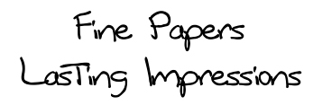 Fine Papers Lasting Impressions