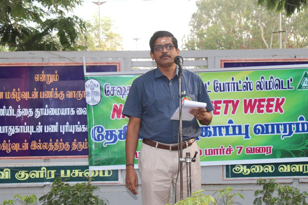 'Safety Week' Celebration