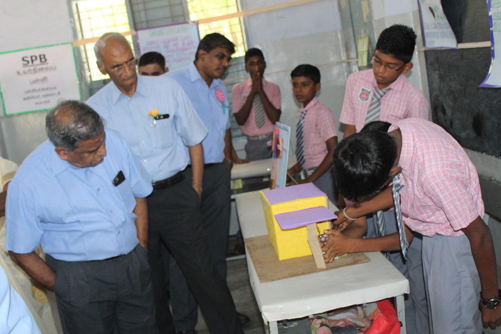 'Science Exhibition' Programme - SPB School